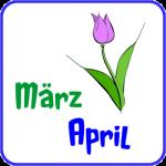 Teichkalender März April