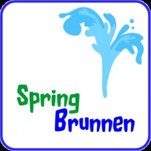 Gemeinsame Springbrunnen für den Miniteich #UE_38